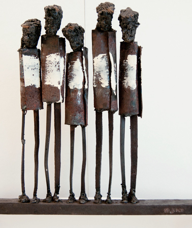 Skulptur: Bal.2012, 32x35x7 cm - konstnär Johan Jonsson