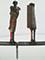 Sculpture: Kiterunner I (28x82x8 cm)