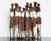 Sculpture: Standing Eight I (24x85x14 cm)