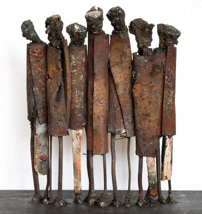 Skulptur Standing Seven I Skulpturer Av Johan P Jonsson