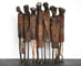 Purchase sculptures online, internet sale: Standing Seven I, 25x93x19 cm