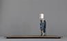 Buy famous, renowned, celebrity metal sculpture: Sunbather.1 26x57x25 cm