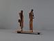 Skulptur: Väntandet IV 25x27x9 cm